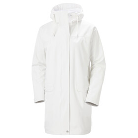 Helly Hansen Moss Abrigo Impermeable Mujer, offwhite